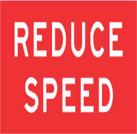 road-sign-reduce-speed
